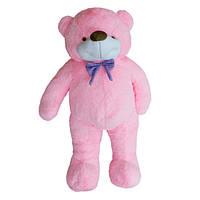 Мягкая игрушка Медведь Бо 95 см розовый