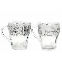 Чашка стеклянная Грация Города 250 мл 85003014