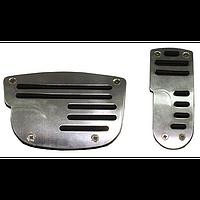 Накладки на педали автомат F 82106 SBK (MG 1062 S/BK)