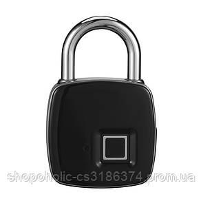 Водонепроницаемы умный замок, навесной с отпечатком пальца Lock AnyTek P3