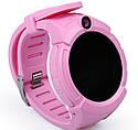 Детские Умные часы с GPS Q360 розовые, фото 2