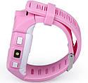 Детские Умные часы с GPS Q360 розовые, фото 3