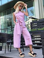 Комбинезон женский летний розовый,голубой 42-46рр., фото 1
