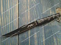 Нож складной 4085 Бамбук на цепочке