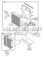 Радиатор - масляный радиатор и фитинги Н1-1-1, фото 1