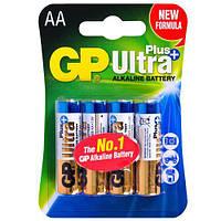 Батарейка GP ULTRA PLUS ALKALINE 1,5V 15AUPHM-2UE2 щелочная, LR6, АА (4891199100246)