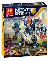 """Конструктор Bela 10487 (Аналог Lego Nexo Knights 70327) """"Королевский Мех""""387 деталей, фото 1"""
