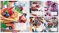 "Тетрадь 18_листов клетка ""YES"" / Sweet eat"