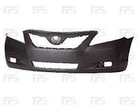 Бампер передний Toyota Camry XV40 06-11 LE/XLE без отверстия спойлера, без отв под крюк