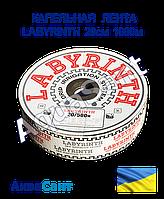 Лента капельного полива LABYRINTH 20см, 1000м щелевая, фото 1