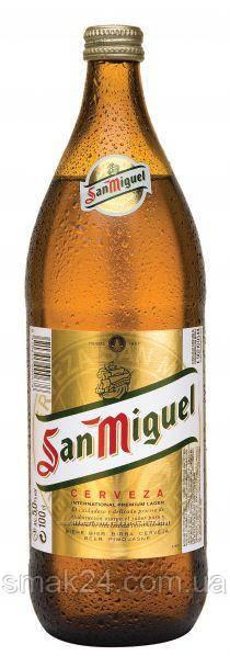 Пиво светлое San Miguel Beer 5.0% 1л Испания
