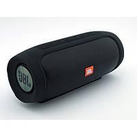 Портативная bluetooth колонка спикер JBL Charge 4 FM, MP3, радио Чёрная