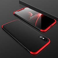 "Пластиковая накладка GKK LikGus 360 градусов для Apple iPhone X (5.8"")"