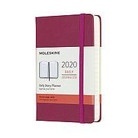 Ежедневник Moleskine 2020 Датированный Карманный Изысканный Розовый (9х14 см) (8058647628301), фото 1