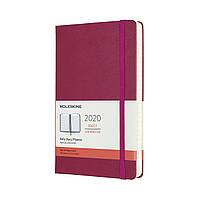 Ежедневник Moleskine 2020 Датированный Средний 400 страниц Изысканный Розовый (13х21 см) (8058647628332), фото 1