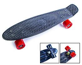 Penny Board Черный цвет Матовые колеса Гарантия качества Быстрая доставка