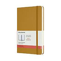Ежедневник Moleskine 2020 Датированный Средний 400 страниц Спелый Желтый (13х21 см) (8058647628325), фото 1