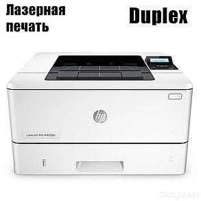 HP LJ Pro M402DN / Лазерная ч/б печать / 38 стр.мин / Ethernet, Duplex, фото 2