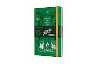 Еженедельник Moleskine 2020 Датированный Alice Средний 144 страницы Зеленый (13х21 см) (8058647628691), фото 1