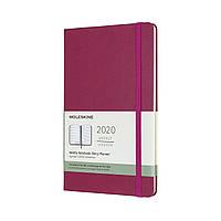 Тижневик Moleskine 2020 Датований Середній 144 сторінки Вишуканий Рожевий (13х21 см) (8058647628394)
