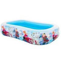 Детский надувной бассейн Intex 58469 «Холодное сердце», 262 х 175 х 56 см