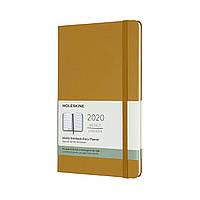 Тижневик Moleskine 2020 Датований Середній 144 сторінки Стиглий Жовтий (13х21 см) (8058647628387)