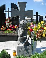 Скульптура на кладбище С-83