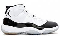 """Кроссовки баскетбольные Nike Air Jordan XI """"Black-White"""" Арт. 3795"""