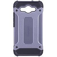 Бронированный противоударный TPU+PC чехол SPIGEN (HC) для Huawei Y3 (2017) / Y3 (2018)