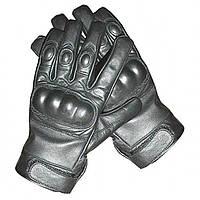 Тактические перчатки кожаные MilTec Black 12504102