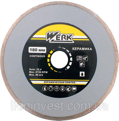 Алмазный диск по керамике 180 мм