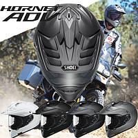 Новый мультифункциональный шлем двойного назначения для бездорожья и города Shoei Hornet ADV.