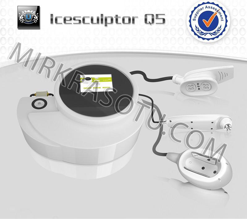 Аппарат Q5 - криолиполиз, рф лифтинг, двойная кавитация