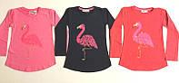 Туника Фламинго на возраст 8- 11 лет