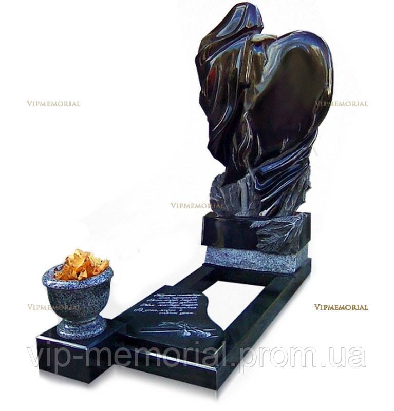 Скульптура на кладбище С-97