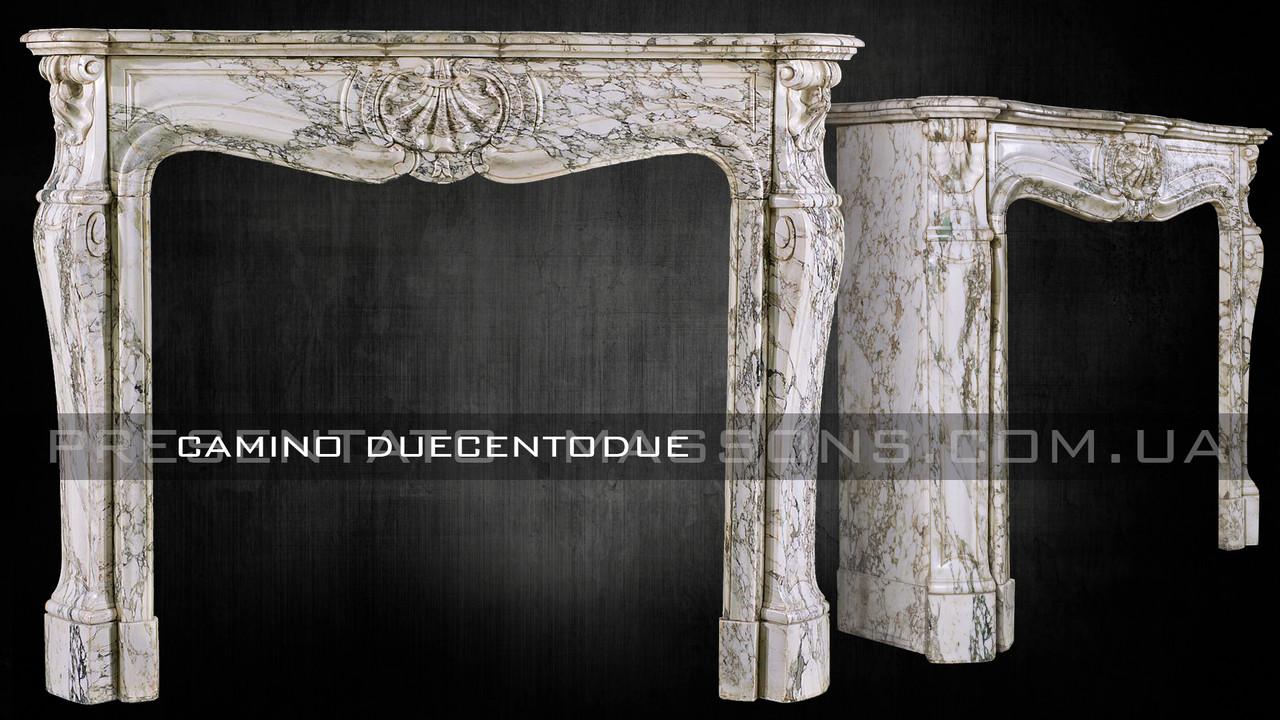 Мраморный камин Camino Duecentodue