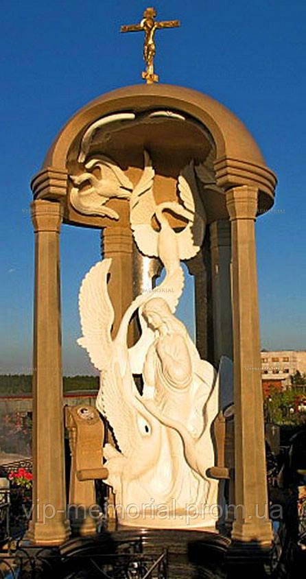 Скульптура на кладбище С-101