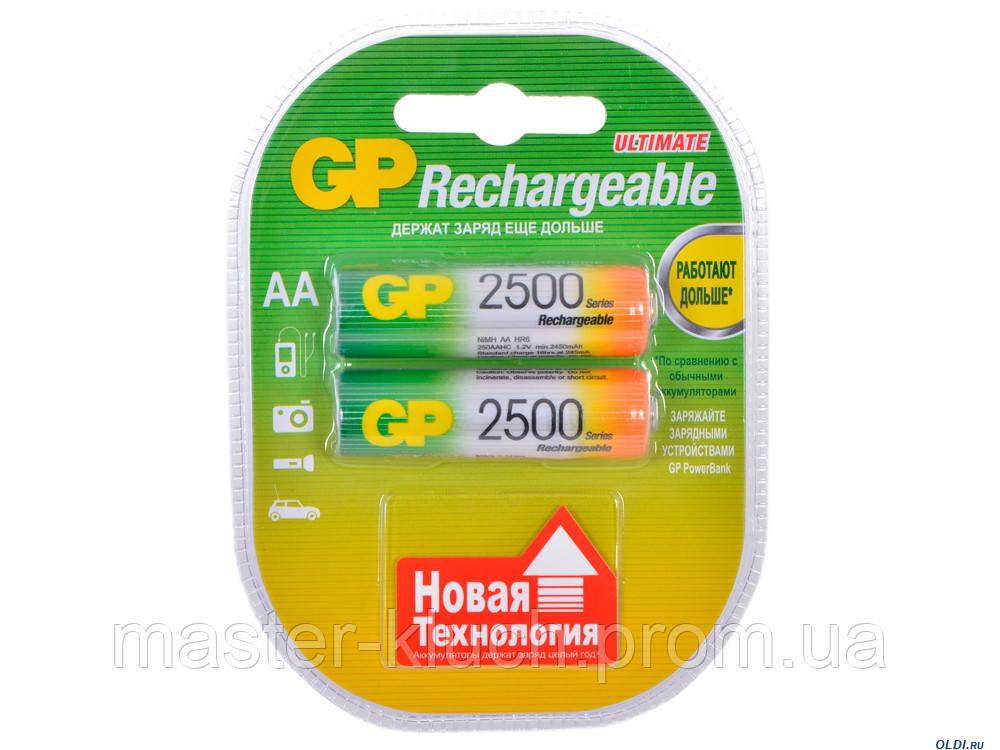 Аккумуляторная батарейка GP Professional АА 2500mAh