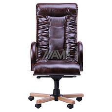 Кресло руководителя Кардинал LUX MB (Бук)(с доставкой) (механизм МВ), фото 2