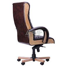 Кресло руководителя Кардинал LUX MB (Бук)(с доставкой) (механизм МВ), фото 3