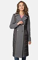 Женское серое пальто MR520 MR 220 2695 0818 Gray Melange
