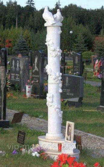 Скульптура на кладбище С-115