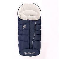 0354_601 Конверт-одеяло на флисе Baby Breeze (утепленный) Синий