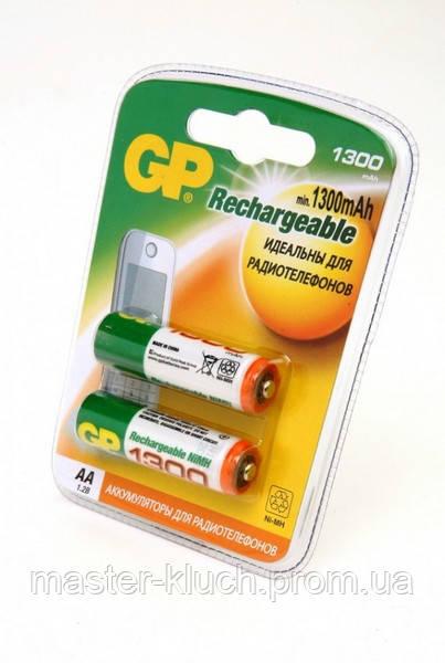 Аккумуляторная батарейка GP Professional АA 1300mAh