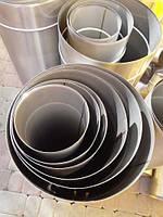 Труба дымоходная из нержавейки одностенная 0,5мм d 180мм h 1000мм
