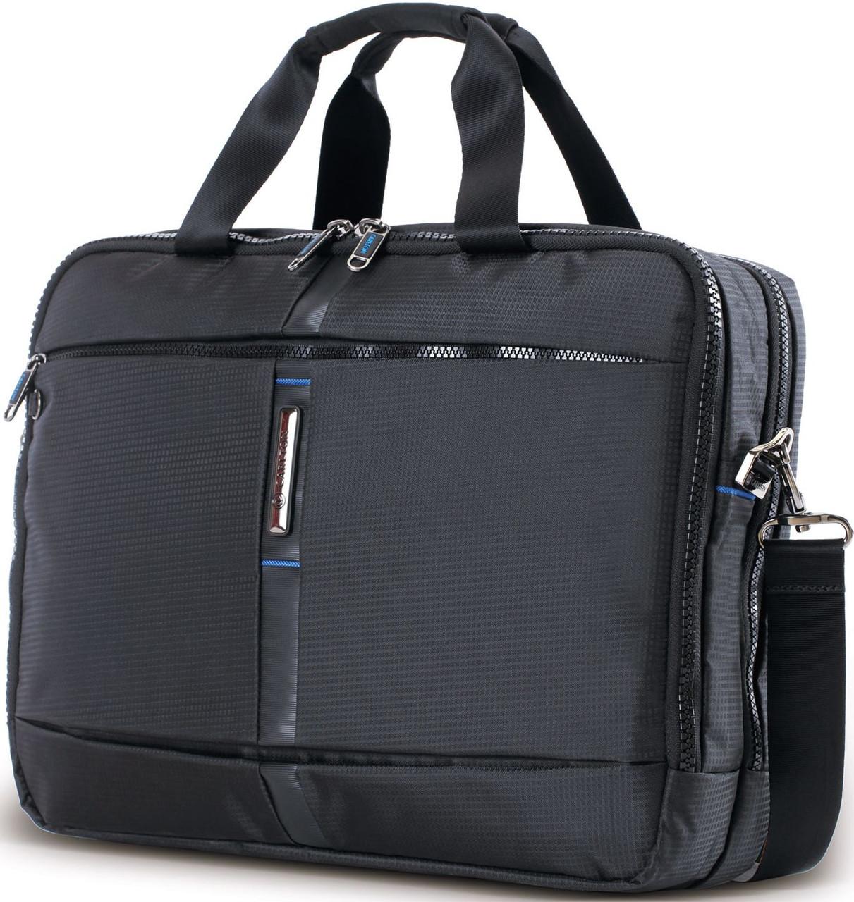 39b88679f7af Деловая тканевая сумка для ноутбука и документов CARLTON Wallstreet:  904J027;01 черный