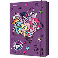 LP19-210 Папка картон для тетрадей на резинках В5 KITE 2019 My Little Pony 210