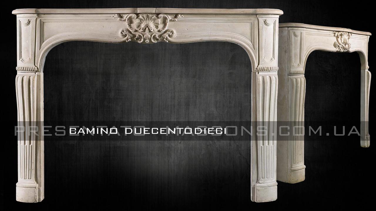 Портал камина из дерева Camino Duecentodieci