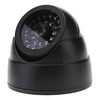 Камера видеонаблюдения обманка муляж с диодами