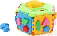 Сортер куб умный малыш гиппо (2445)